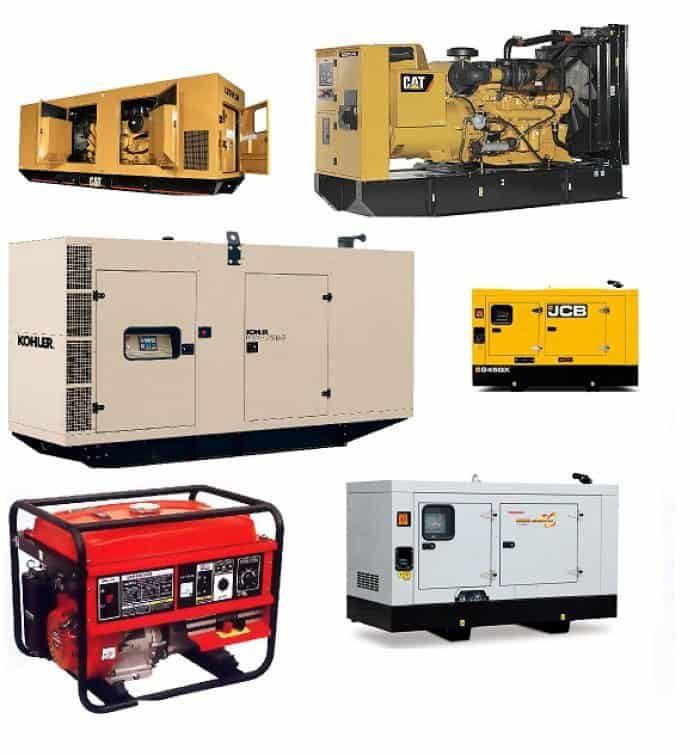 types-of-generator- according-to-technology