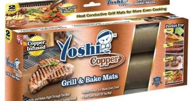 Yoshi Copper Grill Mat Review