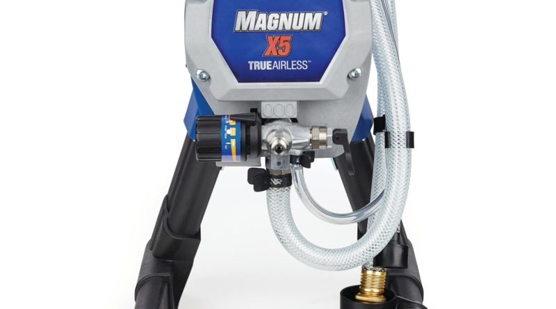 Graco Magnum X5 Paint Sprayer vs LTS 15