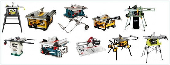 Different Types of Table Saws